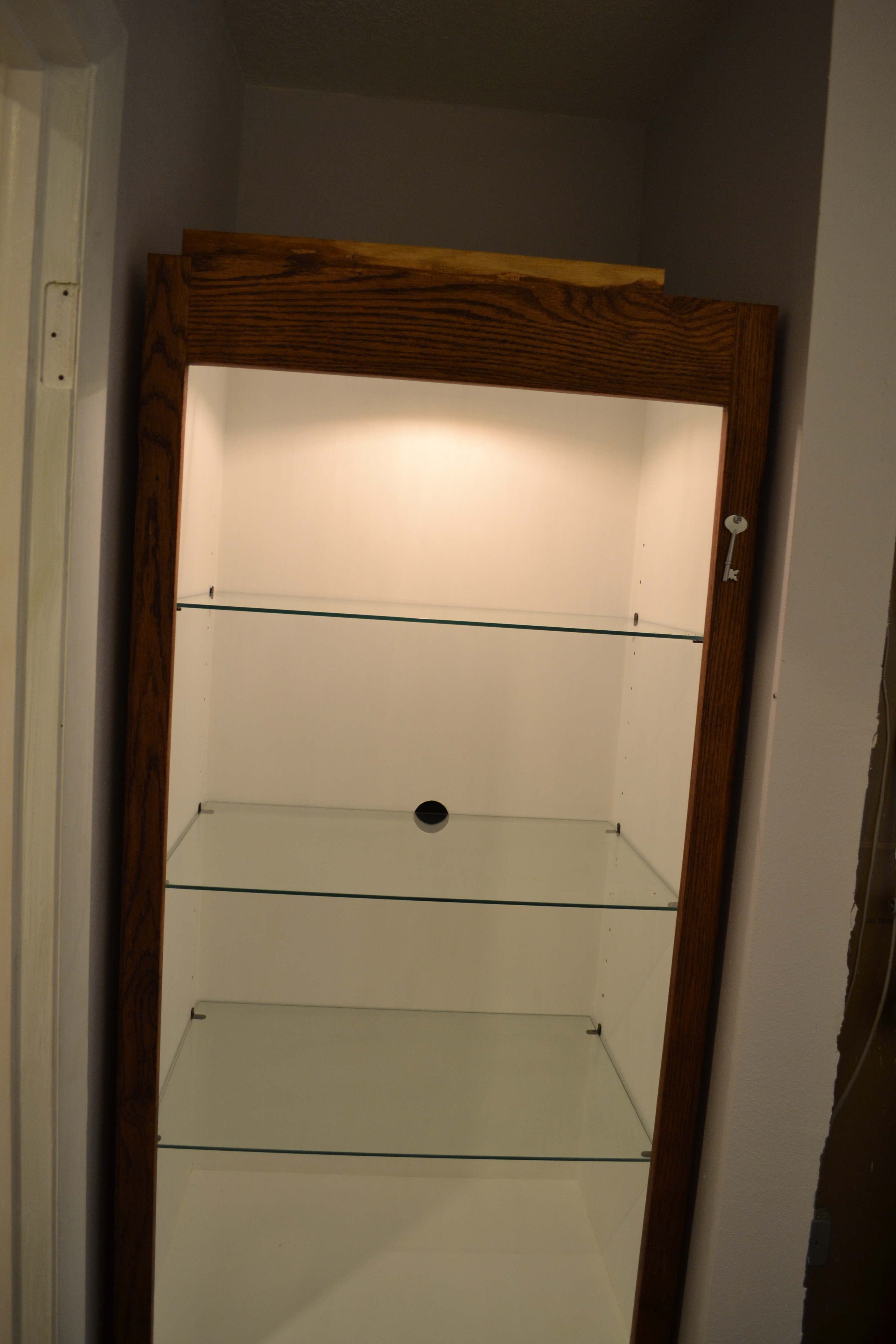 Cabinet Bottom Trim Cabinet Makeover For Built In Bathroom Storage Pardon Our Sawdust